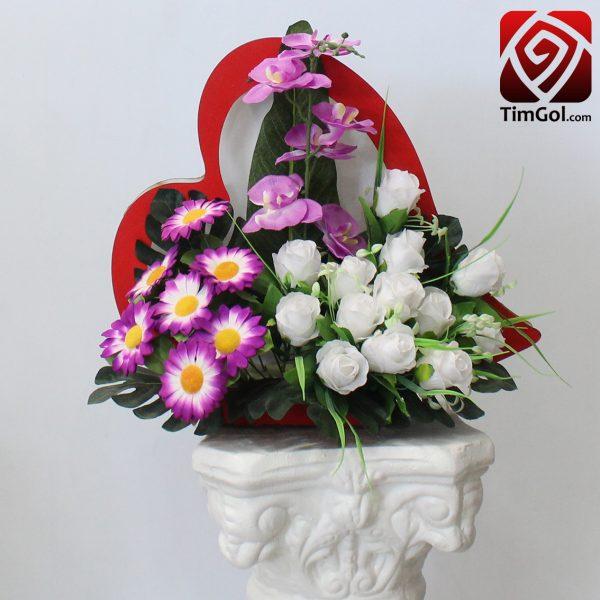 گل مصنوعی رز و گل مصنوعی ارکیده و گل مصنوعی ژربرا