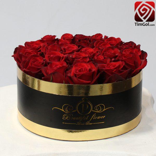 باکس گل رز طبیعی اصفهان
